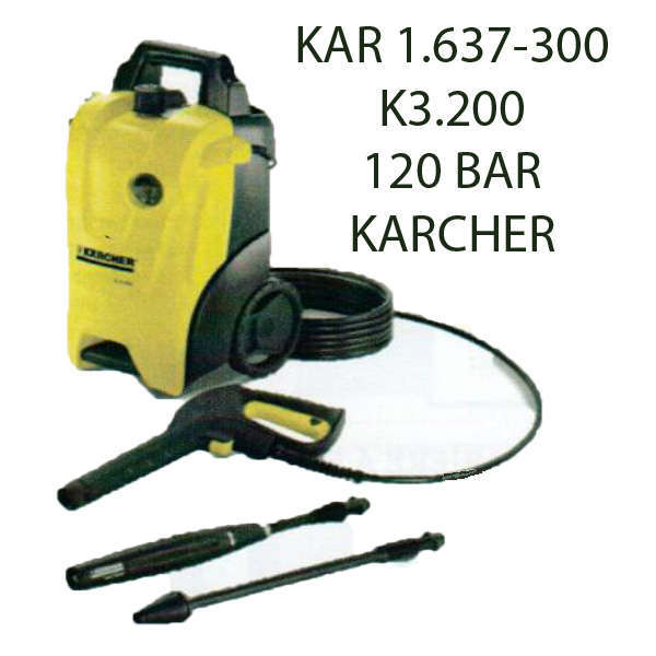 karcher idropulitrice 20 120 bar k kar k. Black Bedroom Furniture Sets. Home Design Ideas